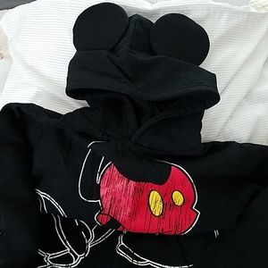 Disney Mickey Mouse Hooded Sweatshirt